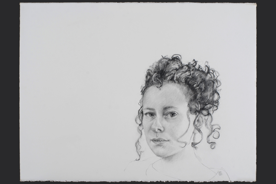 mañana. grafito sobre papel Fabriano Uno Smooth 640 gr. 2009. 56x76cm