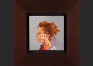 quien es yo. óleo sobre lienzo. 2007. 21.5x21.5cm