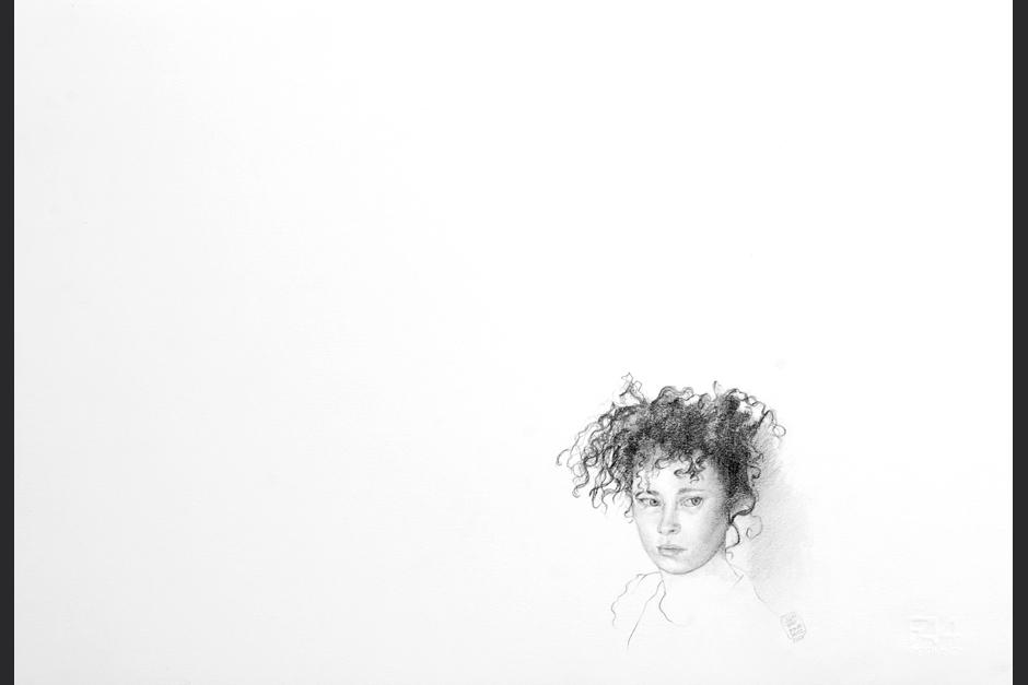 sin título. grafito sobre papel. 2007. 33x48cm