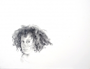 tiempo. grafito sobre papel. 2008. 23x29cm