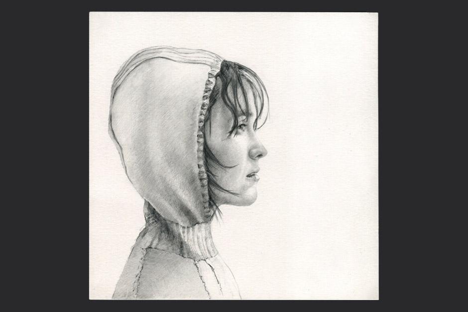 lejanía. grafito sobre papel. 2010. 20x20cm