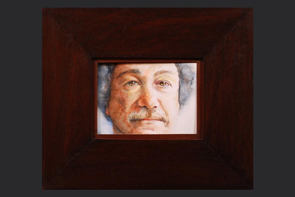 Juan Manuel Roca, retrato.