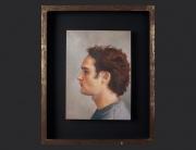 Sebastián Dávila, retrato. óleo sobre lienzo. 2005. 36.5x26.5cm